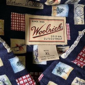 Woolrich Shirts - Men's size XL X-Large WOOLRICH flannel top fishing
